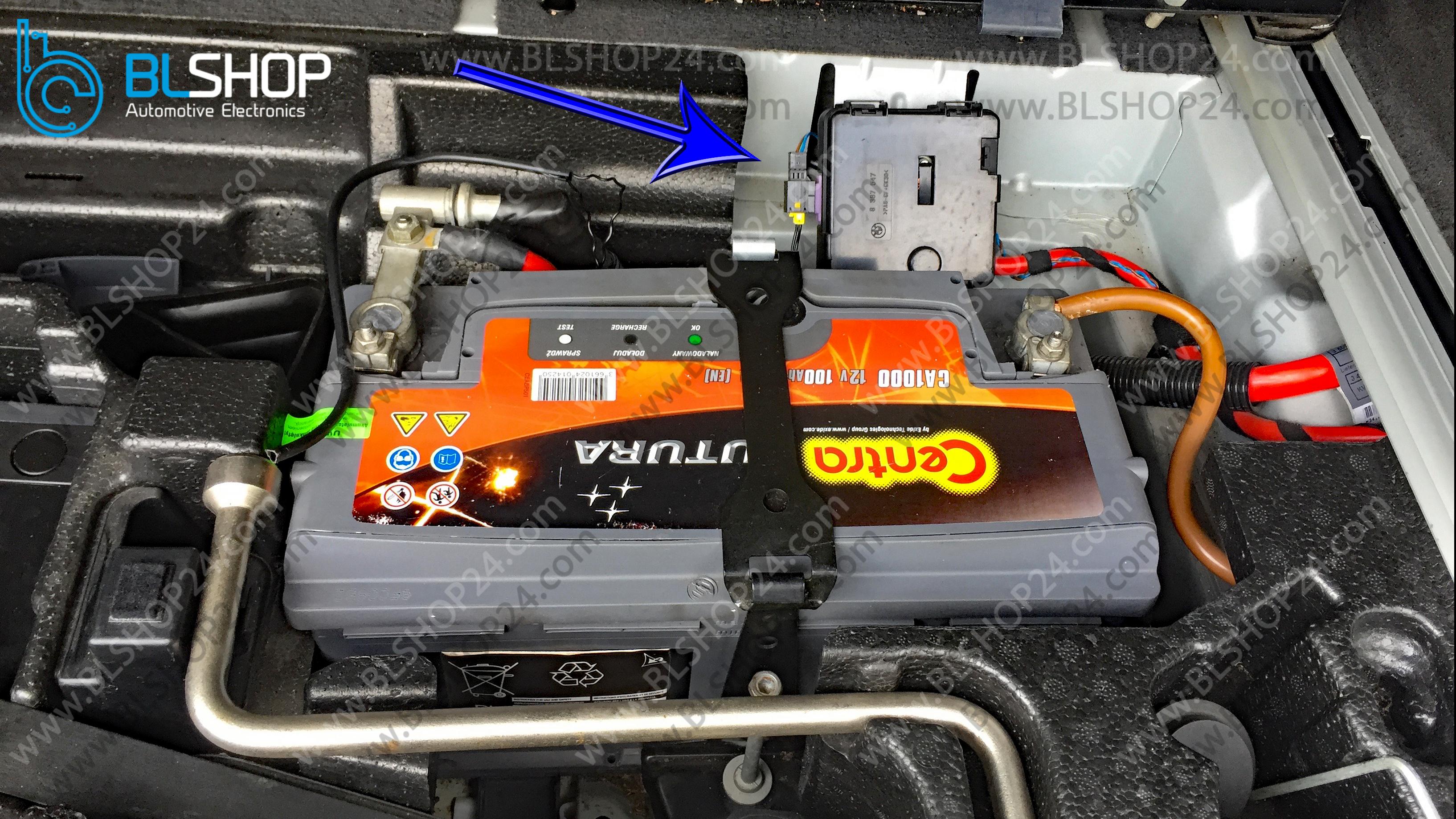 Battery Safety Terminal emulator installation - Step 1
