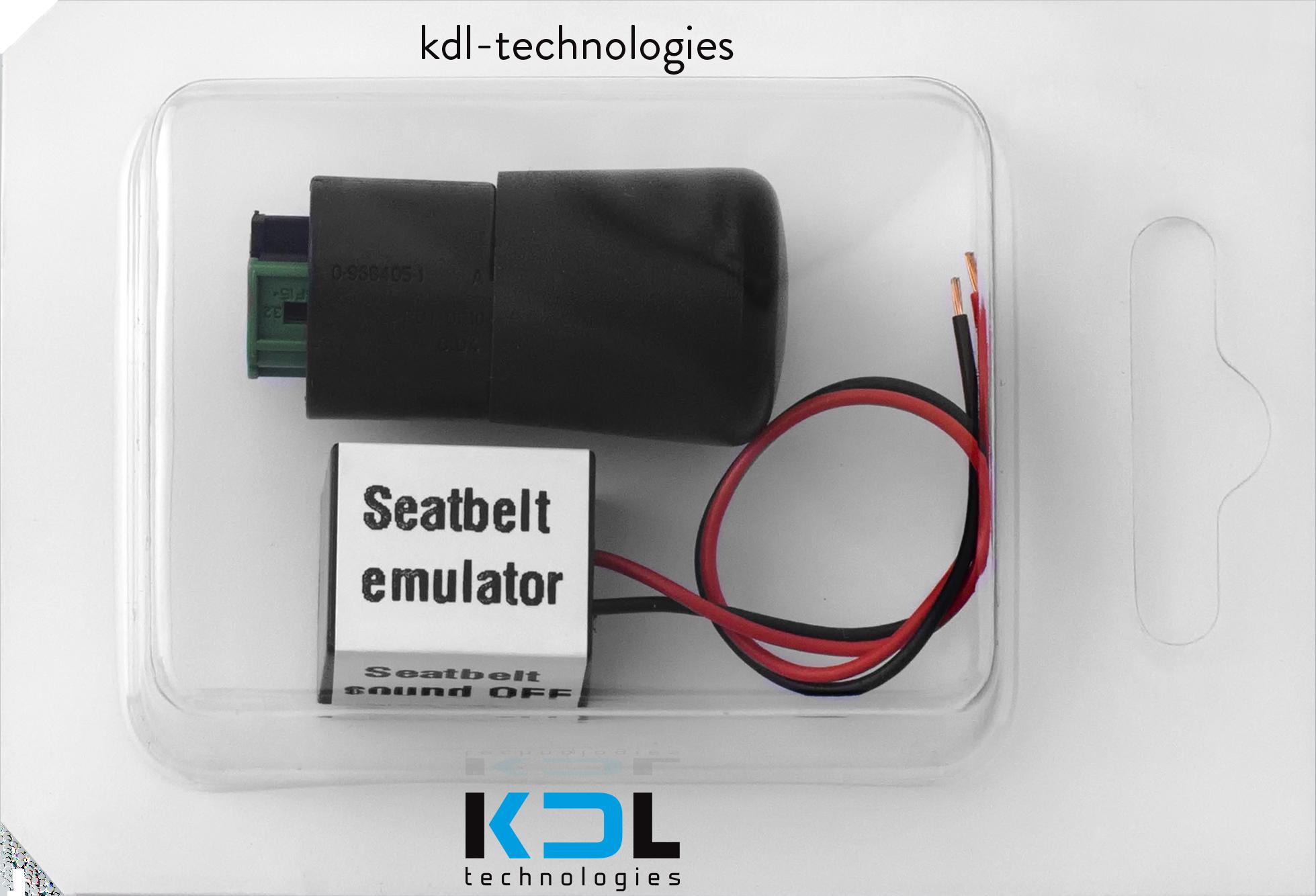 Seat Occupation Mat dérivation pour BMW E46E36E63E65E66Z4X5-E53 Capteur Airbag Emulator